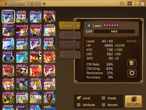 S106) Account Level: 50 Server: Asia