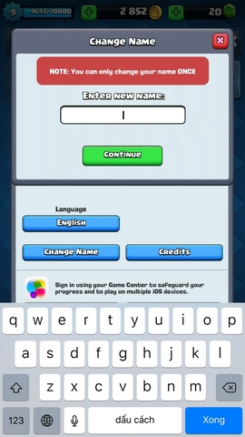 R93 Clash Royale Account lvl 9 (~10), name change available, 4 legendary, 18 epics, ONLY $120