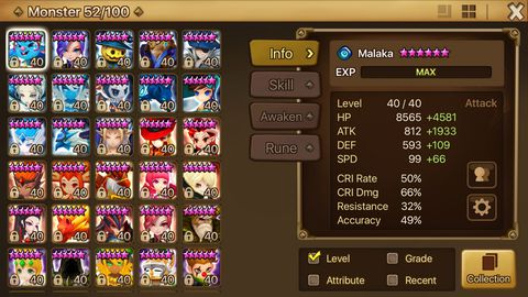 S176) Account Level: 50 Server: Europe