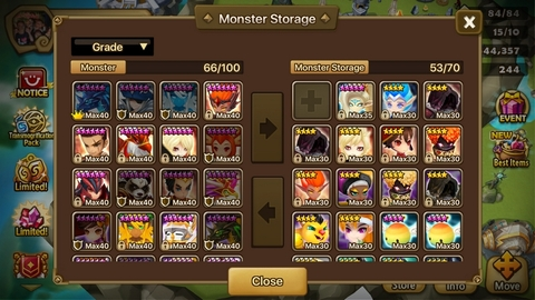 S182) Account Level: 50 Server: Europe