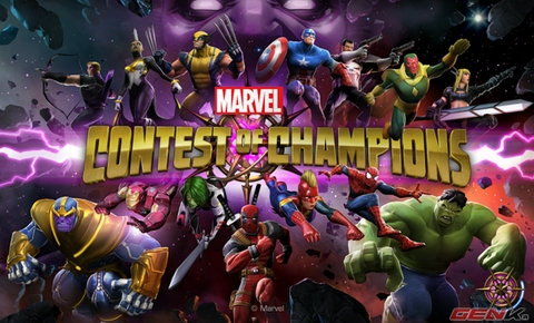 Marvel Contest of Champions: 3,100 Units + Random Bonus, ONLY $40