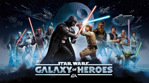 Star Wars Galaxy Of Heroes 157,000 Crystals, ONLY $300