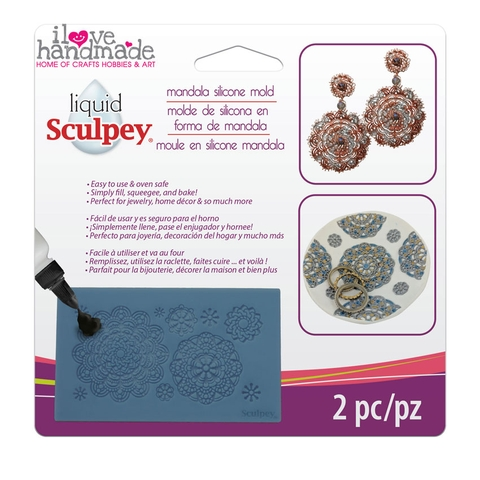 Khuôn silicone - Sculpey Silicone Bakeable Mold – Mandala