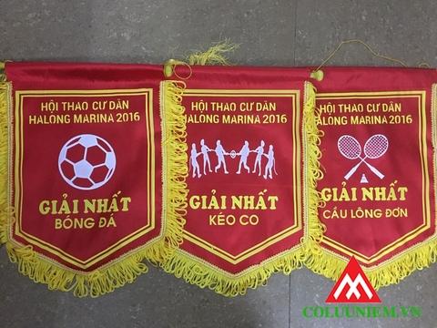 cờ lưu niệm bóng đá