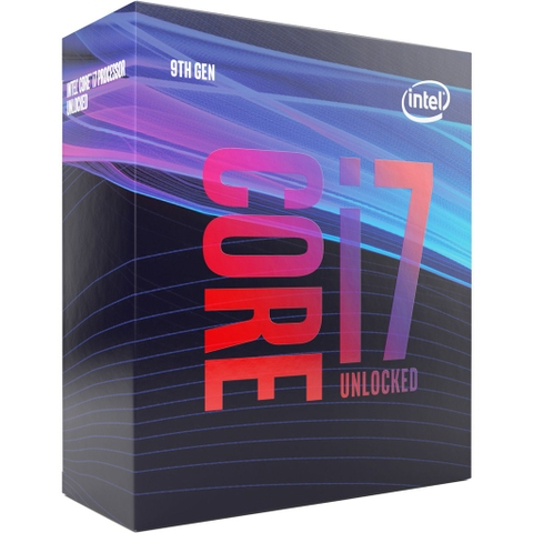 Bộ vi xử lý Intel Core i7-9700K (3.6 Upto 4.6GHz/ 8C8T/ 12MB/ Coffee Lake-R) Ful Box