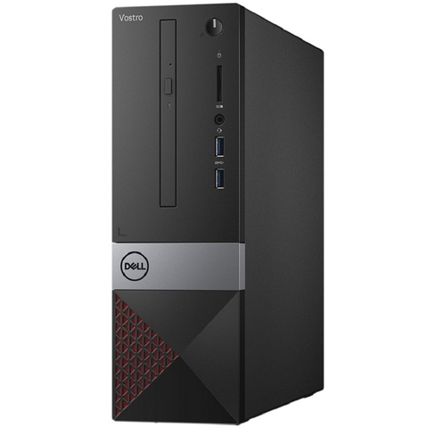 Máy tính đồng bộ Dell Vostro 3471 (form nhỏ) STI30622W-4G-1T Intel Core i3 -9100 ( 3.6 up to 4.2 Ghz, 6M cache ) 4G RAM 2400Mhz - 1T HDD 7200rpm - WL+BT - Keyboard & Mouse - Win10 Home 64 - 1Y