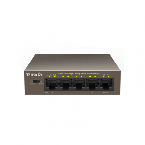 Switch Tenda TEF1105P 5-Port 10/100Mbps PoE
