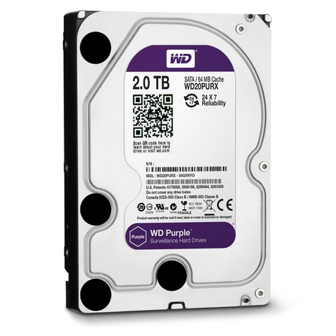 Ổ cứng HDD WD Purple 2TB 3.5