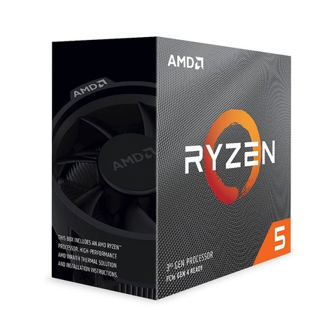 AMD Ryzen 5 3500X, with Wraith Stealth cooler/ 3.6 GHz (4.1GHz Max Boost) / 32MB Cache / 6 cores / 6 threads / 65W / Socket AM4/No Integrated Graphics (Graphic Card Required)