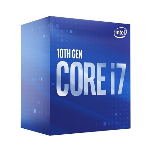 CPU Intel Core i7-10700F (2.9GHz turbo up to 4.8GHz, 8 nhân 16 luồng, 16MB Cache, 65W) - Socket Intel LGA 1200