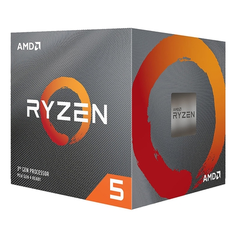 AMD Ryzen 5 3600, with Wraith Stealth cooler/ 3.6 GHz (4.2GHz Max Boost) / 36MB Cache / 6 cores / 12 threads / 65W / Socket AM4