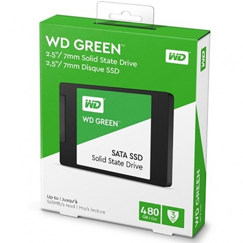 Ổ Cứng SSD WD Green 480GB