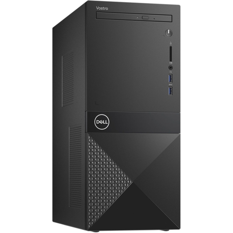 Máy tính đồng bộ Dell Vostro 3671 MT 42VT370059 New Core i5-9400 (6-Core, 9MB Cache),,4GB (1x4GB, 1TB 7200 RPM , Integrated Graphics,  DVD Drive, Optical Mouse & Keyboard, Windows 10 Home