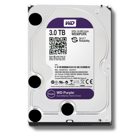 Ổ cứng HDD WD Purple 3TB 3.5