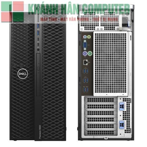 Dell Precision 7820 Tower XCTO Base  Intel Xeon Bronze 3104 1.7GHz, 6C, 9.6GT/s 2UPI, 8M Cache, No Turbo, No HT (85W) DDR4-2133 1st/ 32GB (4x8GB) 2666MHz DDR4 RDIMM ECC/ 3.5