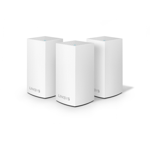 Bộ Phát Wifi Linksys Velop Intelligent Mesh WiFi System AC3900 MU-MIMO (3-Pack) WHW0103-AH