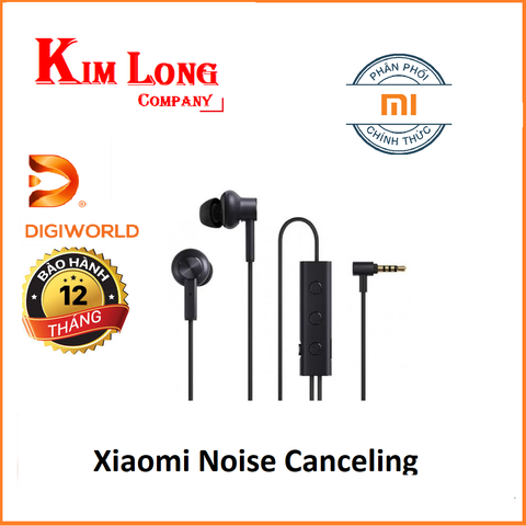 Tai nghe Xiaomi Noise Canceling chống ồn - Digiworld
