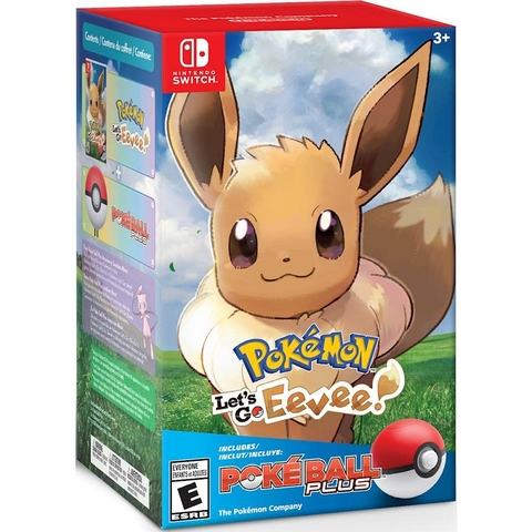 POKÉMON: LET'S GO EEVEE! + POKE BALL PLUS PACK