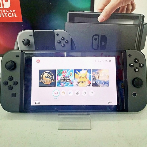 Switch gray joy-con fullbox, hàng 2nd hand