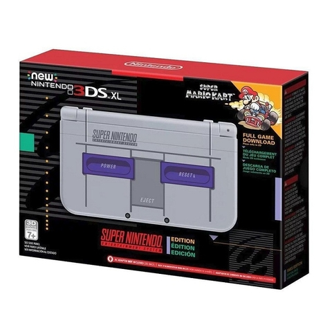 New Nintendo 3DS XL SNES Edition