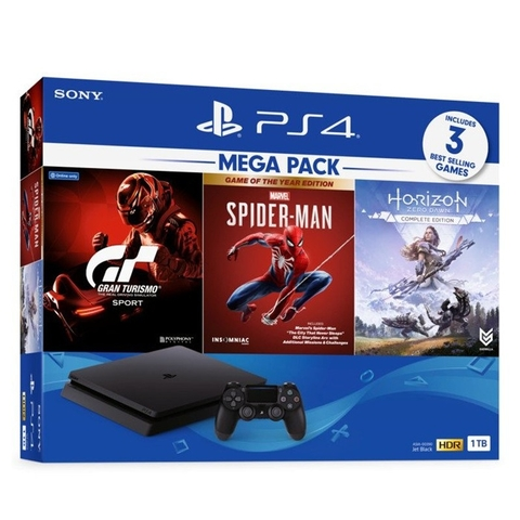 PS4 Slim 1T Mega Pack 3- SONY VN, 3 games