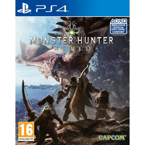 MONSTER HUNTER WORLD ( EU )