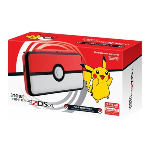 New Nintendo 2DS XL Poké Ball Edition ( US )