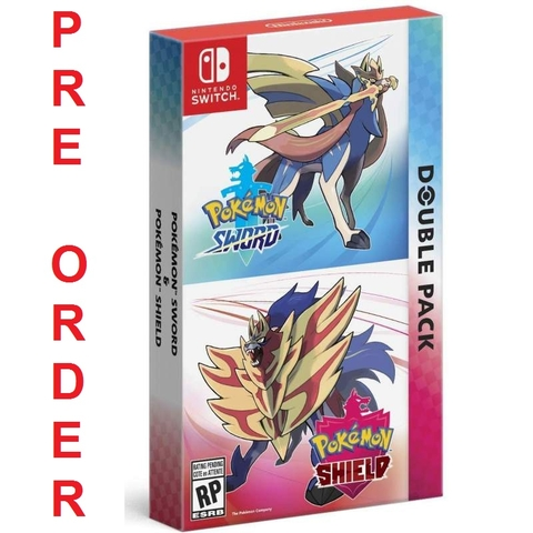 Pokemon Sword Shield Double Pack