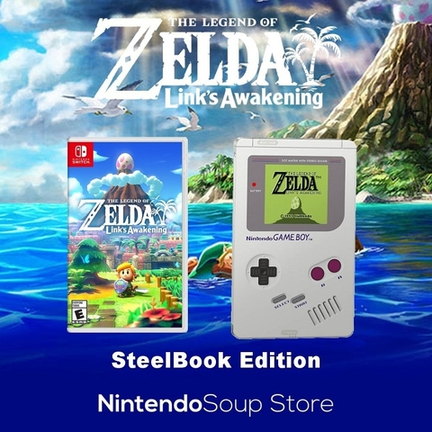THE LEGEND OF ZELDA: LINK'S AWAKENING STEELBOOK EDITION