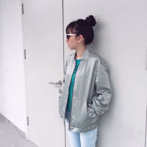 Flash Bomber Jaket #JKAW3616080