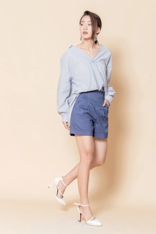 Blue Navy Short #SHAW2316074