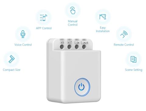Công tắc điều khiển thông minh Wifi Broadlink  MCB1