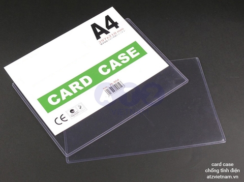 Card case chống tĩnh điện - Khổ A4 - A5 / Card case Antistatic A4/ Card case ESD A4