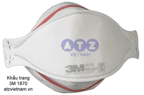 Khẩu trang chống bụi 3M 1870 Health Care Particulate Respirator and Surgical Mask
