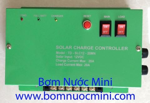 hop điều khiển năng lượng mặt trời