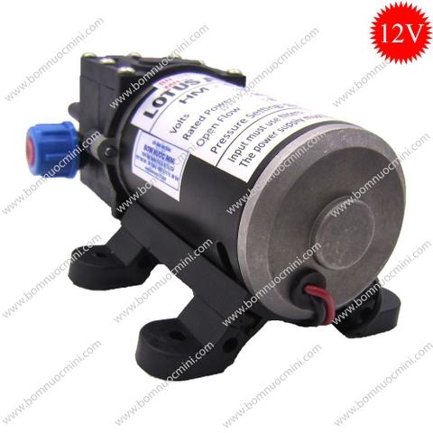máy bơm nước mini áp lực 12V