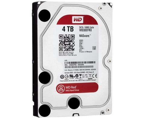 WD HDD Red 4TB 3.5