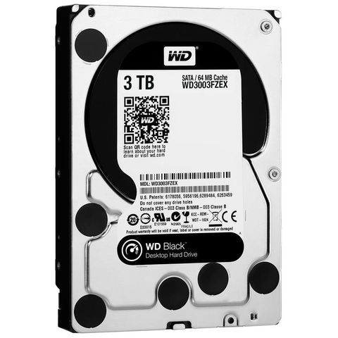 WD HDD Black 3TB 3.5