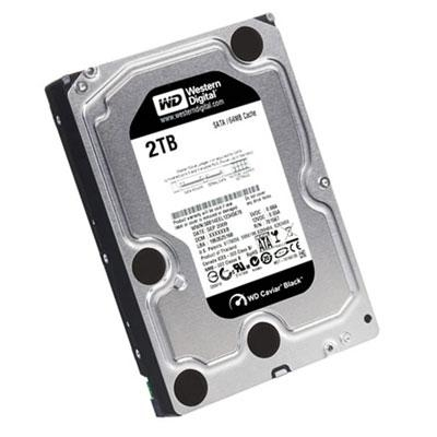 WD HDD Black 2TB 3.5