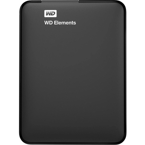 HDD Box Western Elements Portable 2TB - USB 3.0 (Black)