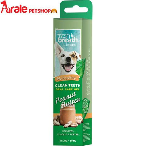 FRESH BREATH CLEAN TEETH VANILLA MINT ORAL CARE GEL