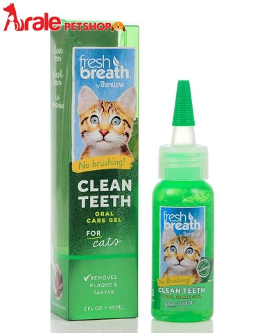 FRESH BREATH CLEAN TEETH ORAL CARE GEL FOR CATS