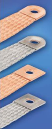 EARTHING TAPES WITH SOLDERLESS PRESSED CONTACT AREAS