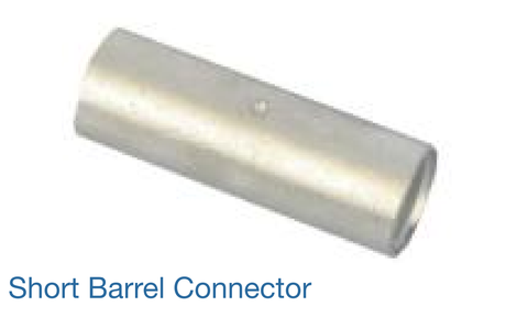 CABLE CONNECTOR & FERRULES - SHORT BARREL