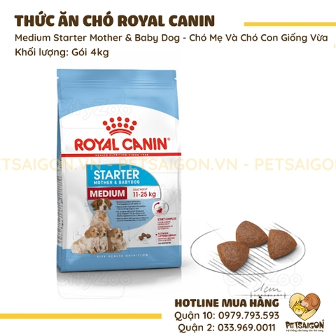 Royal Canin - Medium Starter Mother & Babydog