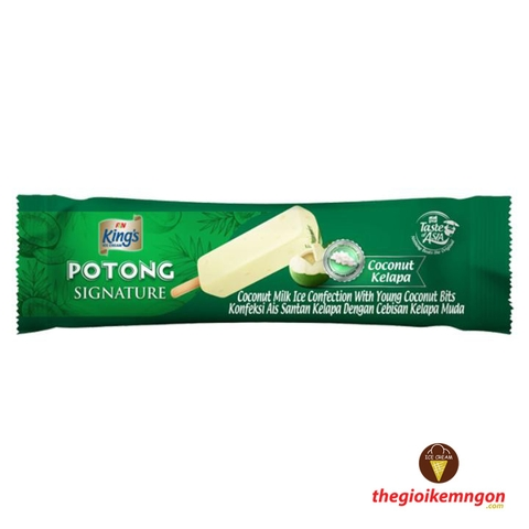 Kem dừa non Potong Signature Coconut King's F&N 60ml