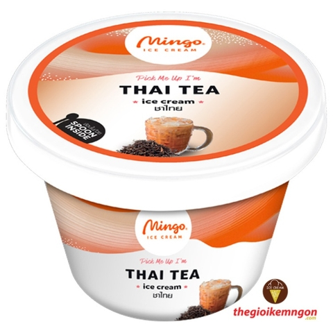 Kem ly trà Thai Tea Cup Mingo 120ml