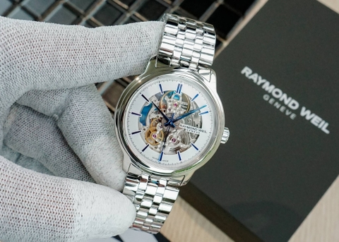 RAYMOND WEIL 2215-STC-65001 MAESTRO AUTOMATIC SKELETON - NAM - AUTOMATIC - 40MM