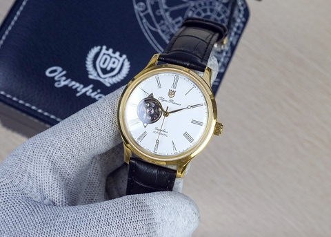 OLYM PIANUS OP99141-71.1AGSK-GL-T - NAM - KÍNH SAPPHIRE - AUTOMATIC - 41MM