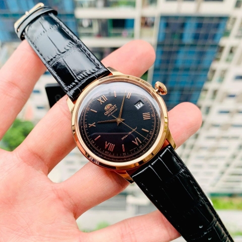 ORIENT BAMBINO 2ND GENERATION VERSION 2 FAC00006B0 - NAM - KÍNH CỨNG - AUTOMATIC - 40.5MM
